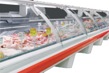 Refrigerated counters (horizontal refrigerated showcases)