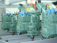 Production of refrigeration plants